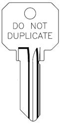 Home Depot Key Copy >> SC1 DO NOT DUPLICATE JMA KEY BLANK